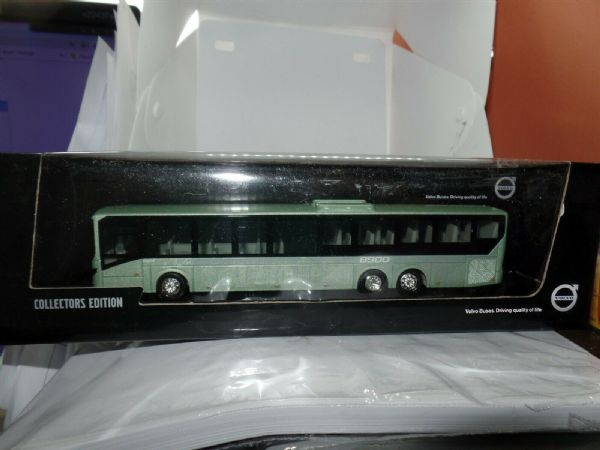 Motorart 300060 1:87 HO Scale Volvo 8900 Low Entry Bus Light Metallic Green